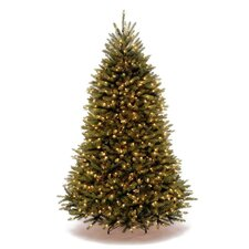Dunhill Fir 7.5' Green Artificial Christmas Tree with 750 Dual-Color LED Lights