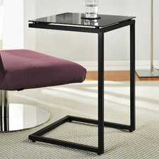C-Shaped End Table