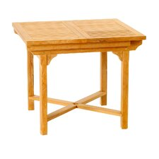 Teak Patiotek Balcony Extension Table
