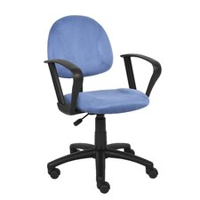 Microfiber Deluxe Posture Chair with Loop Arms