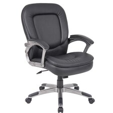 Office Chair with Padded Armrests