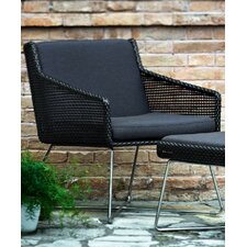 Avalon Dining Chair with Arms in Dark Brown