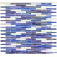 "Elida Glass 14"" x 13"" Mosaic in Ocean Brick"