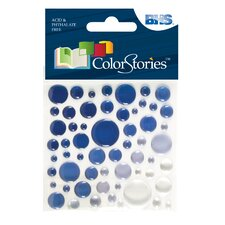 Colorstories Epoxy Color Spots Stickers