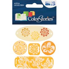 Colorstories 3D Charms (Set of 6)