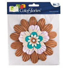 ColorStories Stacked Flowers (Set of 5)