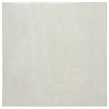"Mesa 12"" x 12"" Ceramic Floor and Wall Tile in Gris"