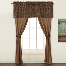 Animal Rod Pocket Curtain Panel Pair