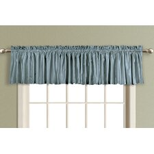 Anna Straight Rod Pocket Tailored Curtain Valance