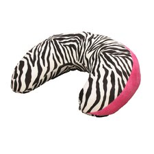 Hot Pink Zebra Nursing Pillow