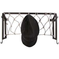 Hall of Fame Soccer Goal Post Coat Rack