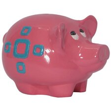 Girly Chic Double Sided Geometric Piggy Bank