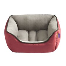 Reversible Rectangular Cuddler Dog Bed