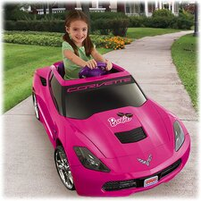 Power Wheels 12V Barbie Corvette