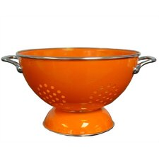 Calypso Basics 5 Quart Colander in Orange