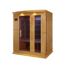 3 Person Far Infrared Carbon Sauna
