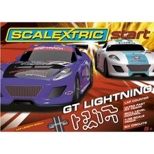 Start 1:32 GT Lightning Slot Car Set