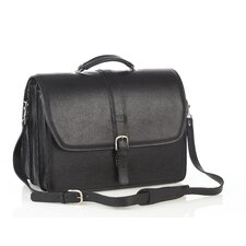 Triple Compartment/Removable Laptop Briefcase