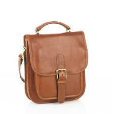 Medium Sized Leather Shoulder Bag