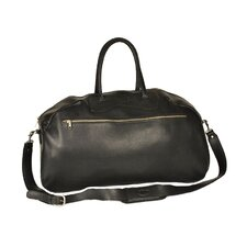 "24"" Leather Gym Bag"