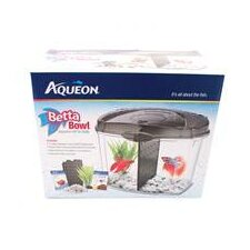 Betta Bowl Kit in Black - 0.5 Gallon