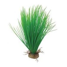 Natural Elements Hairgrass Aquarium Ornament in Green