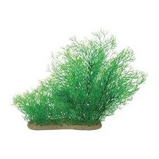 Natural Elements Java Moss Aquarium Ornament in Green