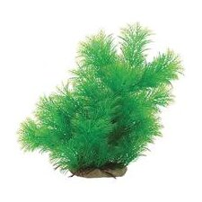 Natural Elements Myriophyllium Aquarium Ornament in Green
