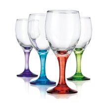Carnival 10 oz. White Wine Glass (Set of 4)