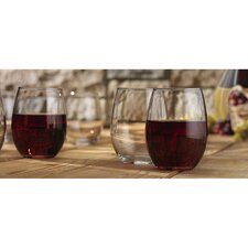 Vino 21 oz. Stemless Goblet (Set of 12)
