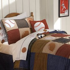 Classic Sports 2 Piece Quilt Set