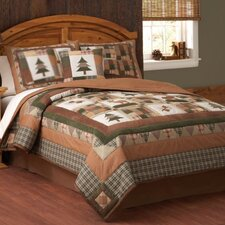 Moose Head Lodge Quilt Set