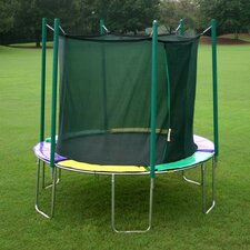 As Shown10 ft. Round Trampoline with Enclosure