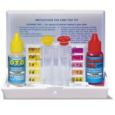Poolmaster Dual Test Kit with Case
