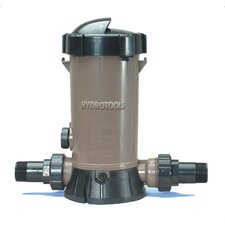 Inline Chlorine Feeder in Tan