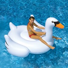 Giant Swan in White