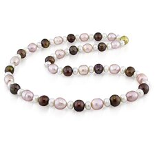 Multi Shape Freshwater Pearl Necklace