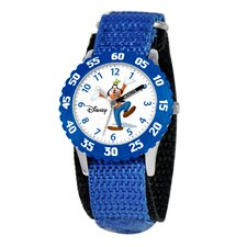 Kid's Goofy Time Teacher Watch in Blue
