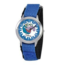 Kid's Muppets Time Teacher Watch in Blue