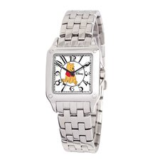 Women's Winnie the Pooh Perfect Square Bracelet Watch