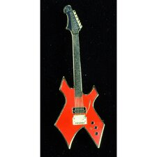 BC Rich Warlock Electric Guitar in Gold and Red