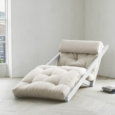 Fresh Futon Figo with White Frame in Natural