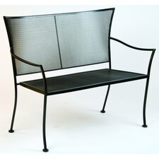 Amelie Metal Garden Bench