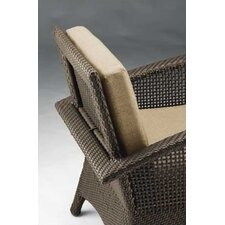Trinidad Wicker Dining Arm Chair with Cushion
