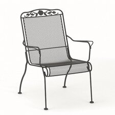 Windflower Mesh Stackable High Back Lounge Chair