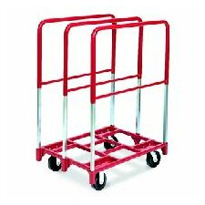 "Panel Mover 5"" Quiet Poly Casters, All Swivel, 3 Extra Tall Uprights"