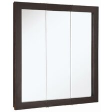 "Ventura 30"" x 30"" Three Door Medicine Cabinet"