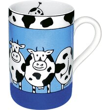 Animal Stories Cow 10 oz. Mug 4 (Set of 4)