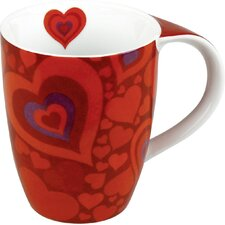 Gift for All Occassions Hearts Mug (Set of 4)