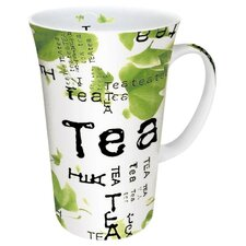 Tea Collage Mega Mug (Set of 4)
